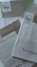 Yves Delorme COCON BLANC PIERRE SATIN Duvet Cover Set KING