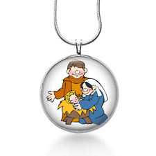 - Holiday Jewelry - Nativity Nativity Necklace - Christmas Pendant