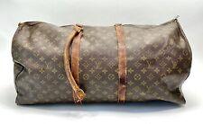 •Large Vintage Louis Vuitton Duffle Bag•Monogram Coated Canvas•READ DESCRIPTION•