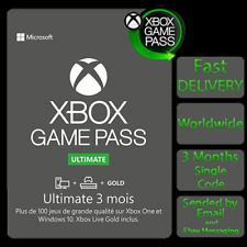 Xbox Game pass Ultimate 3 Mois / 3 Months / 3 Meses / 3 Mesi / WORKS WORLDWIDE