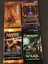 Magic the Gathering MODERN HORIZONS DARK ASCENSION 2014 CORE WAR SPARKS BOOSTERS