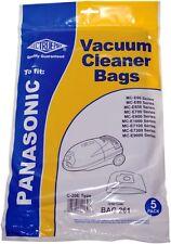 Electruepart BAG 261 5 pack Vacuum Cleaner Bags to fit Panasonic Vacuum Cleaners
