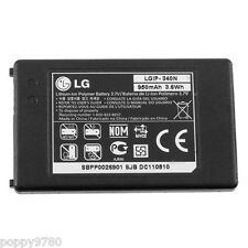 New LG OEM LGIP-340N 950mAh 3.6Wh 3.7V Li-Ion Replacement Cell Phone Battery