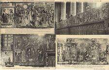 Lot 4 cartes postales anciennes LA CHAISE-DIEU 1