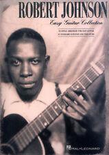 Robert Johnson Collection Easy Guitar Songbook Noten Tab für Gitarre leicht