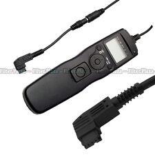 Timer Remote Shutter +2.5mm Adapter Cord for Sony A900 A850 A550 A700 A350 A300