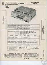 1960 Dodge DeSoto Car Radios-Sams Photofact Tech Docs