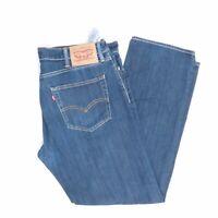Levi's Levis Jeans 504 W38 L32 blau stonewashed 38/32 Straight -JA4464