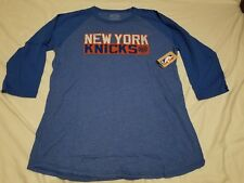Carmelo Anthony New York Knicks womens XXL 3/4 Sleeve T-Shirt New NWT NBA Blue