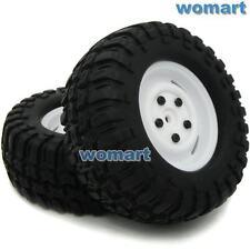 4 Stück RC 1/10 96mm 1.9 Reifen Tires Hex 12mm Wheels für RC Rock Crawler Truck