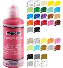 Window Color Farbe Glasmalfarbe 80ml Auswahl aus 39 Farben