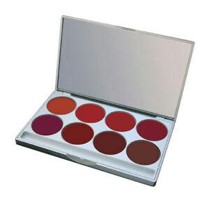 Mehron L.I.P. Cream Dark Night Shades 8 Color Palette