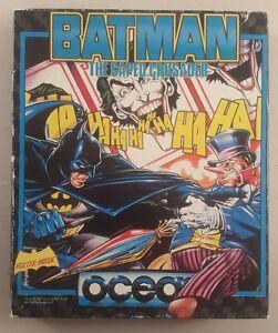 amstrad cpc 464 batman cassette game the caped crusader - amstrad cpc cassette g