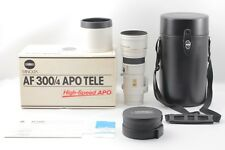 【TOP MINT in BOX】Minolta AF APO TELE G High Speed 300mm f/4 APO AS AF G Lens