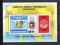 32564) HUNGARY 1981 MNH** Philexfrance S/S Scott# B325