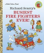 Little Golden Book Richard Scarry's Busiest Fire Fighters Ever!