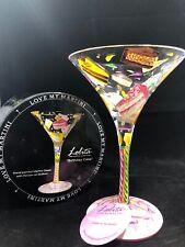 "Lolita - The Martini Collection - ""Birthday Cake"" New Martini Glass"