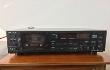 Sony Stereo Cassette deck TC-R503. Tested