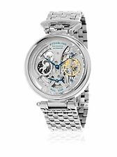 Stuhrling Original 797 01 Men's Legacy Automatic Skeleton Stainless Steel Watch
