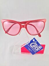 VINTAGE RAY BAN Bausch & Lomb USA Red Cats Changeable Rose Sunglasses