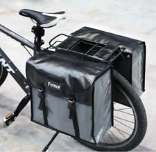 Doppel Fahrradtasche wasserdichte Gepäcktasche Gepäckträger Tasche  20 L FEMOR