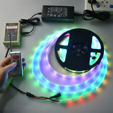 5M RGB Dream Magic Color 5050 150 6803 IC LED Strip Light 133 Remote 60W Power