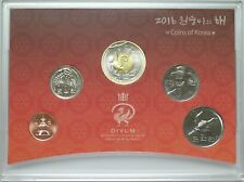 2016 South Korea Year of the Monkey Coin Set