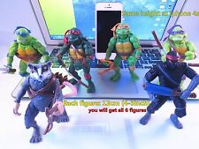 6pc 12cm Ninja Turtles Action Figures Collection Toy Set  USA Shipper