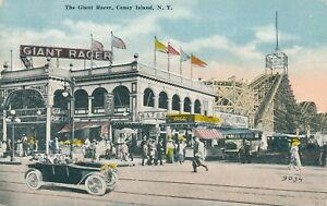 BROOKLYN NY – Coney Island The Giant Racer