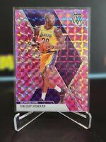 2019-20 Panini Mosaic Pink Camo Prizm Dwight Howard Los Angeles Lakers