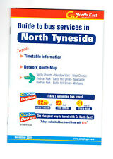 Go North East bus timetable for North Tyneside 2004