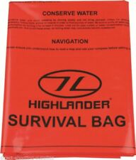 Highlander Bâche/sac de Secours avec Survival astuces D