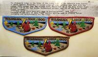 OA Lodge 190 Wisawanik 1900 ERROR SET #25 (S7,S8,S9) Arbuckle Area Council BSA