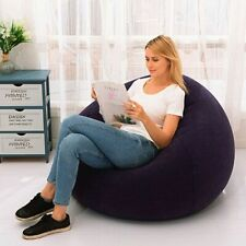 Large Inflatable Sofa Chair PVC Lazy Lounger Seat Bean Bags For Home Living Room