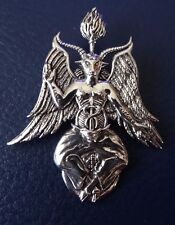BAPHOMET  PENDANT  by Maxine Miller AMAZING DETAIL crafted in STERLING SILVER
