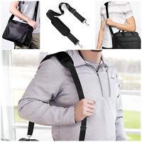 Black replacement shoulder strap for Laptop Luggage bag Shoulder bag and Diaper