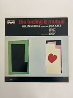 HELEN MERRILL/DICK KATZ The Feeling Is Mutual MILESTONE LP VG++/VG+ **