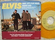 Elvis Presley - Hound Dog / Baby, Let's Play House - USA GOLD VINYL 45 + PS MINT