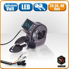 Acceleratore accelleratore elettrico per bici elettrica monopattino 24 36 48 v