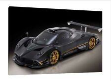 Pagani Zonda R - 30x20 Inch Canvas Art Work - Framed Picture Print