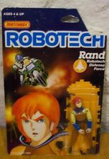 1985 Robotech Rand Matchbox Action Figure Toy