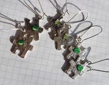 Handgefertigter Mode-Ohrschmuck aus gemischten Metallen Hakenverschluss