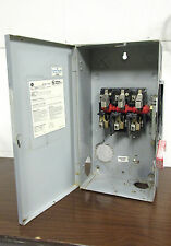 General Electric 100A Safety Switch Cat# THN3363  600V, Nema 1 ....  DS-712