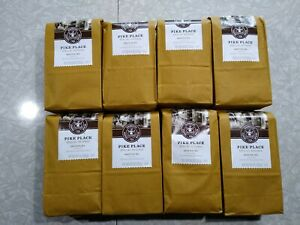 (8)- 8.8Oz Bags Starbucks Pike Place Special Reserve whole Bean Arabica Coffee