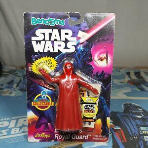 Emperor's Royal Guard Star Wars Bend-Ems Just Toys Vintage Action Figure 1994