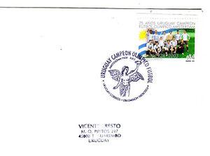URUGUAY 2003 SOCCER 1928 OLYMPIC CHAMPIONSHIP 75 ANNIVERSARY FDC