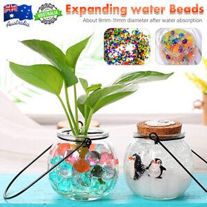 50000 Orbeez Crystal Soil Water Balls Jelly Gel Beads Vase Wedding Decoration OZ