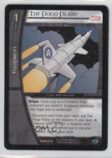 2004 VS System Marvel Origins #MOR-074 The Pogo Plane Gaming Card q0l