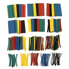 410pcs 2:1 Polyolefin Halogen-Free Heat Shrink Tube Sleeving 5Color 10Size