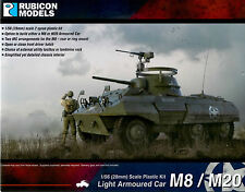 Rubicon Models 28mm 1/56 scale World War 2 US M8 Greyhound /M20 Scout Car
